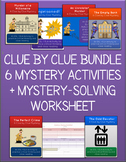 Critical Thinking Mystery Game: Clue by Clue Bundle