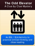 Critical Thinking Mystery Activity:  Elevator Routine Mystery Activity