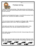Cluebuster Math Word Problem Investigations