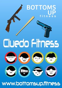 Cluedo fitness murder mystery