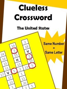 Clueless Crossword – United States of America