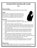 Cluemaster Vocabulary Game