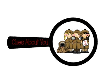 'Clues About You' - Student Interest Inventory
