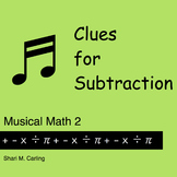 Clues for Subtraction