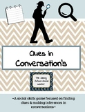 Clues in Conversation- A social skills game