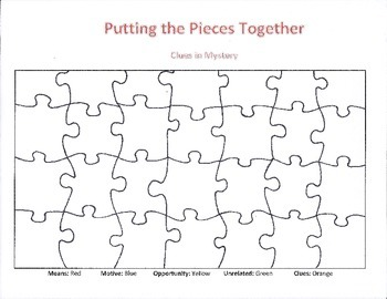 Clues in Mystery: Putting the Pieces Together