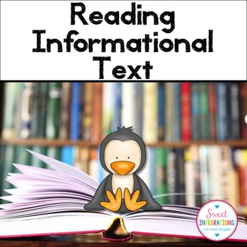 INFORMATIONAL TEXT FEATURES - Graphic Organizers and Slide Shows