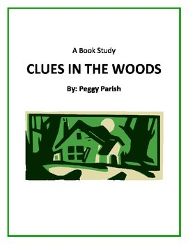 """""""Clues in the Woods"""" Book Study"""