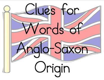 Clues of Anglo-Saxon, Greek, and Latin Origin Bulletin Board
