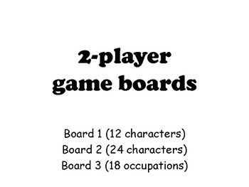 Cluiche: Guess Who BOARD GAME VERSION