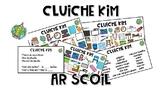 Cluiche Kim: Ar Scoil