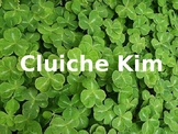 Cluiche Kim - Lá Fhéile Pádraig - Gaeilge