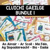 Cluichí Gaeilge One (An Aimsir, Ar Scoil, Mé Féin, Ag Siopadóireacht, Bia, Éadaí