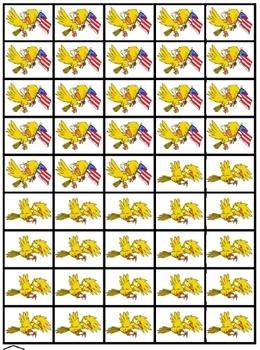 Clumsy Eagles: subtraction fun