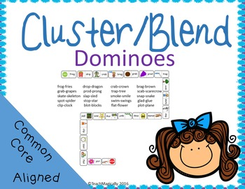 Consonant Blends Dominoes Game