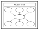 Cluster Map - Blank Template
