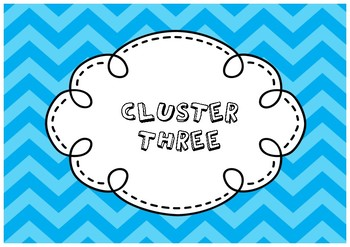 Cluster Posters 2 - Chevron
