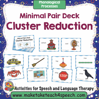 Cluster Reduction - Minimal Pairs Deck
