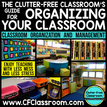 Classroom Organization Bundle to Become an Organized Teacher
