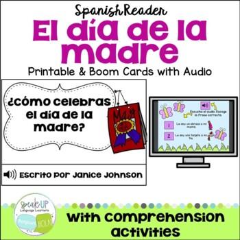 ¿Cómo celebras el día de la madre?  {Spanish Mother's Day Book & Reading pages}