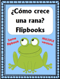 ¿Cómo crece una rana? Flipbooks - Same flipbook: Multiple Versions