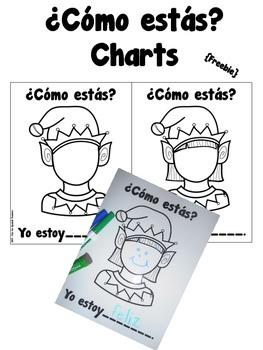 ¿Cómo estás? Charts {Freebie}