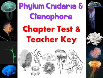 Cnidaria & Ctenophora Test for Biology or Zoology