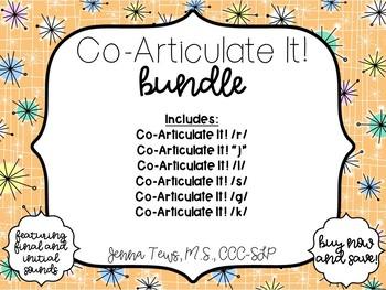 Co-Articulate It!  Bundle!