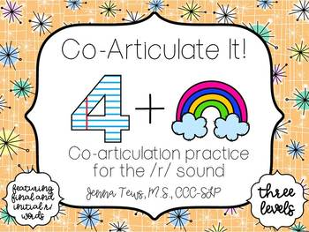 Co-Articulate It!  Co-articulation practice for the /r/ sound