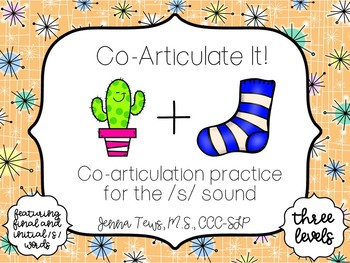 Co-Articulate It! Co-articulation practice for the /s/ sound