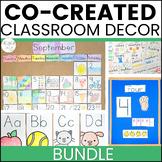 Co-Created, Student-Centered Classroom Decor