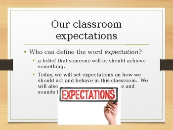 Co-Creating Classroom Rules and Expectations
