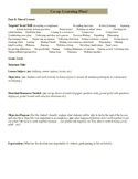 Co-Operative Learning Lesson Plan Template