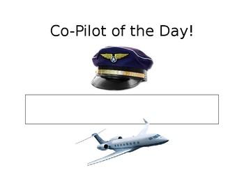 Co-Pilot Sign