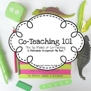 Co-Teaching 101 Flip Book (Inclusion)