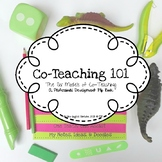 Co-Teaching 101 Flip Book (Inclusion)