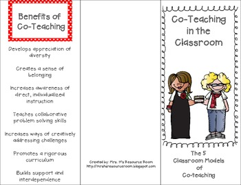 Co-Teaching Brochure