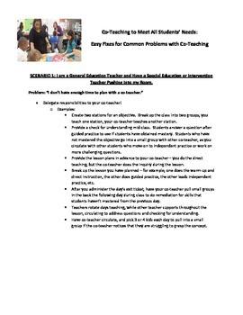 Co-Teaching Easy Fixes