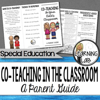 Special Education - Co-Teaching (inclusion):  A Parent Guide