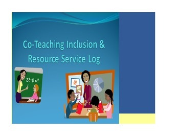 Co-Teaching Inclusion and Resource Log
