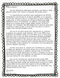 Co-Teaching Parent Letter