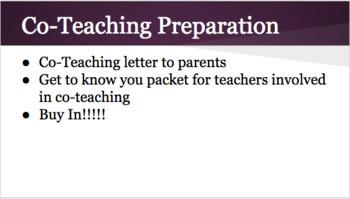 Co-Teaching Presentation