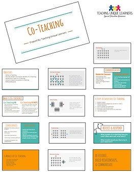 Co-Teaching Professional Development Resource