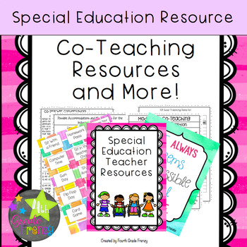 Co-Teaching Resource Notebook