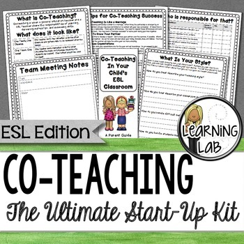ESL Co-Teaching Start-Up Kit (ESL, ESOL)