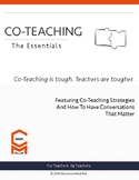 Co-Teaching- Teacher Essentials