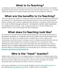 Co-Teaching for Parents/Families