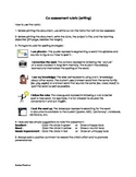 Co-assessment rubric (writing)