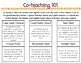 Co-teaching Classroom Planning Documents