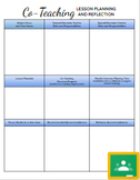 Co-teaching/Instructional Assistant Lesson Planning and Reflection